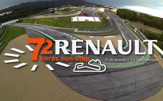 Renault: 72 horas Non-stop (Circuito do Estoril)