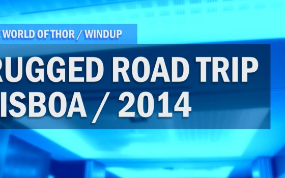 Windup: Rugged Road Trip Lisboa 2014