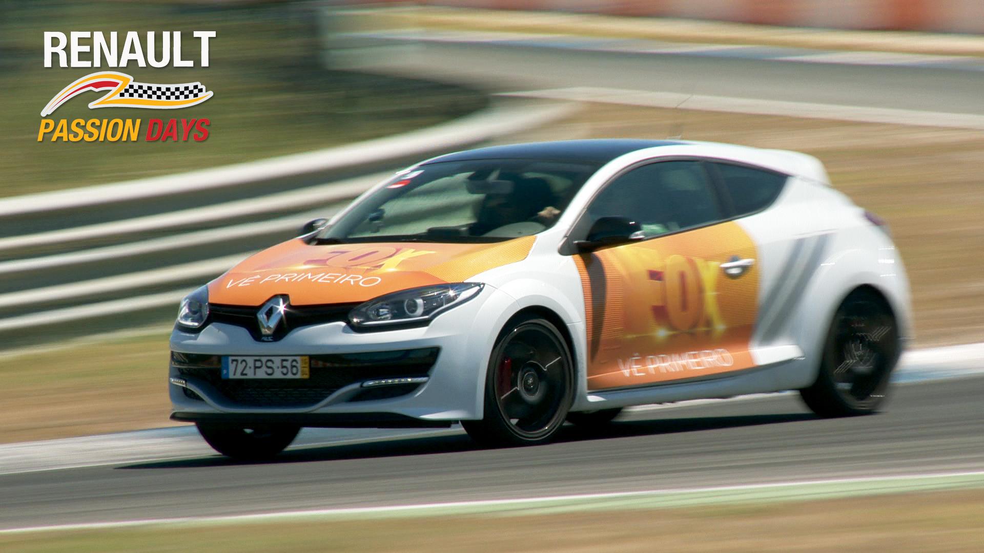Renault Megane no Circuito do Estoril