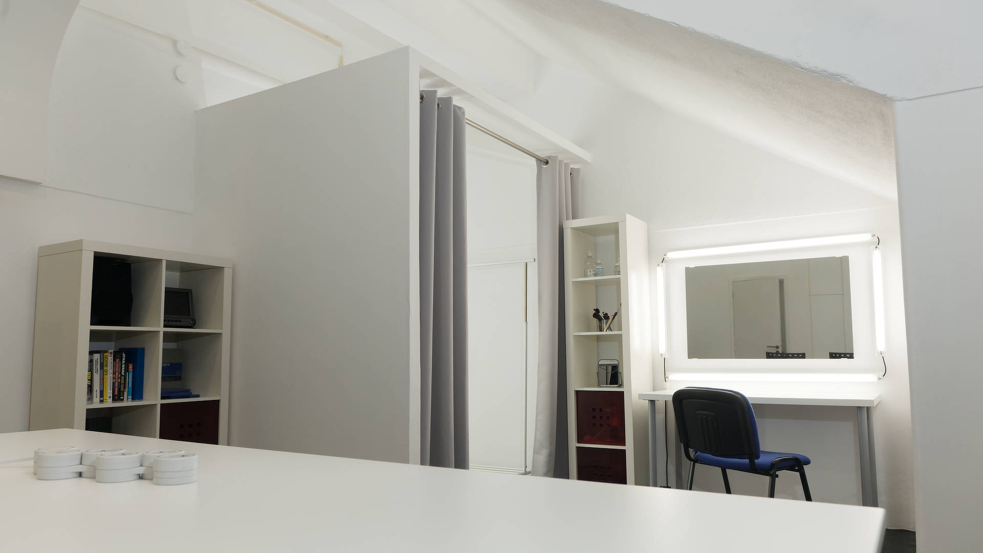 Estúdio de vídeo e fotografia da Multimédia com Todos (Lisboa, 2021)