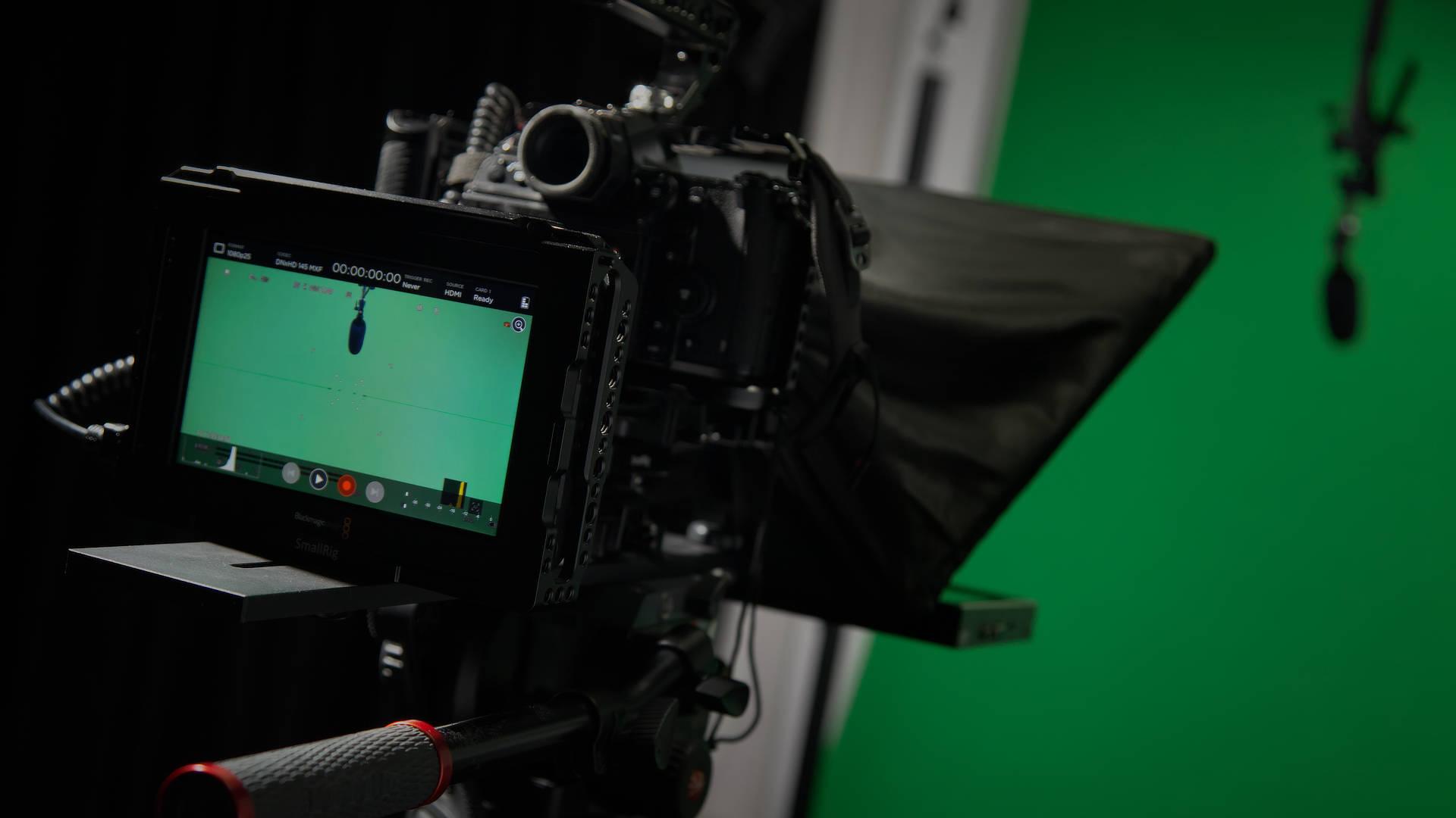Estúdio de Vídeo e Fotografia da Multimédia com Todos - Espaço Chroma-Key